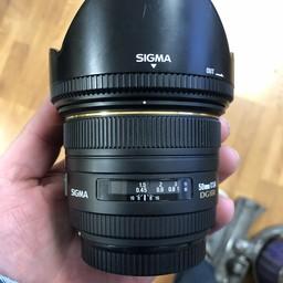 Used Sigma 50mm 1.4 DG HSM EX (Canon)