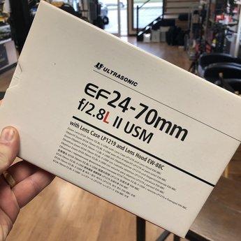 Used Canon 24-70mm f/2.8L II USM