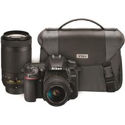 Nikon D7500 w/ 18-55 & 70-300 Kit #13543