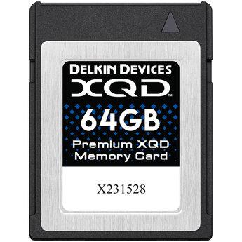 Delkin 64gb XQD