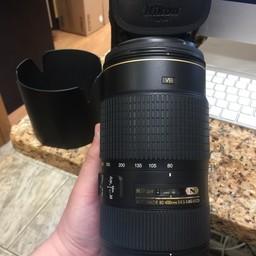 Nikon AF-S 80-400mm 4.5-5.6G ED VR N