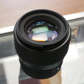 Used Sigma 56mm 1.4 sony E