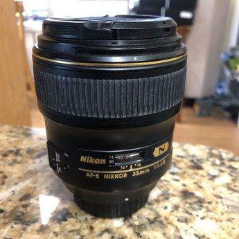 Used Nikon 35mm 1.4G