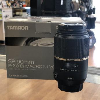 Used Tamron 90mm F/2.8 Macro (Nikon)