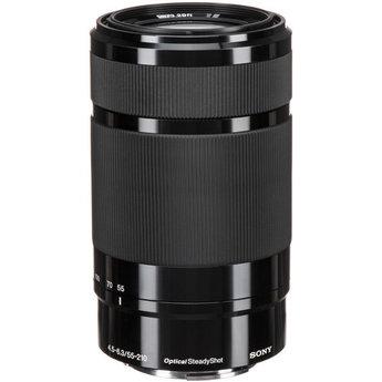 Used Sony E 55-210mm f/4.5-6.3 OSS Lens (Black)