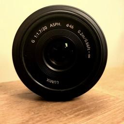 Used Panasonic Lumix 20mm 1.7 G