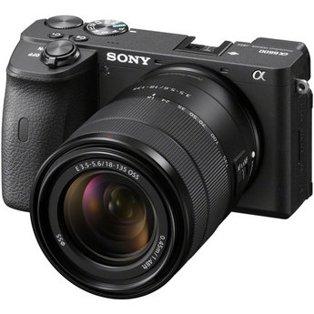 Sony Sony Alpha a6600 Mirrorless Digital Camera with 18-135mm Lens