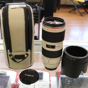 Used Canon 70-200 f/2.8 L IS II