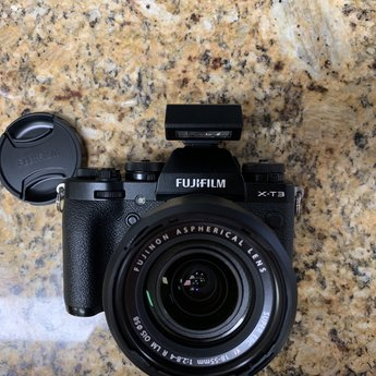 Used Fujifilm X-T3 18-55mm Kit (black)