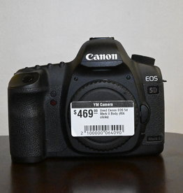 Used Canon EOS 5d Mark II Body