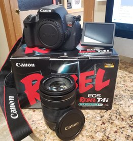 Used Canon Rebel T4i 18-135 IS STM kit
