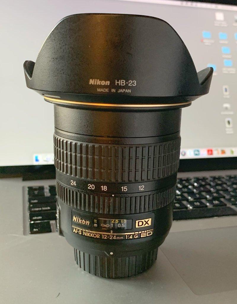 Used Nikon AF-S 12-24mm f4 DX ED