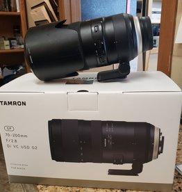 Used Tamron 70-200mm 2.8 G2 Nikon (Refurbished from Tamron)