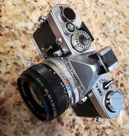Used Olympus OM-1 w/ 50mm 1.8
