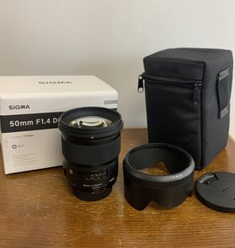 Used Sigma 50mm 1.4 ART (nikon mount)