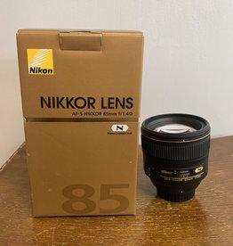 Used Nikon 85mm 1.4G