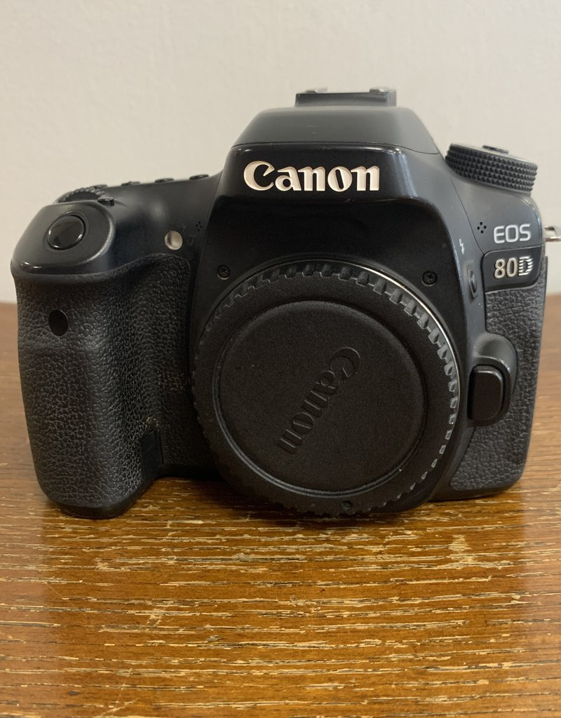 Used Canon 80D Body (95k Clicks~)