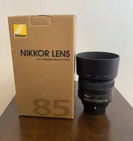 used Used Nikkor 85mm 1.8G
