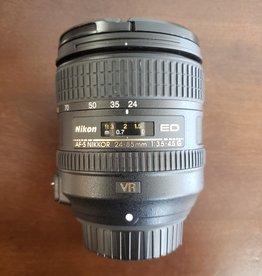 Used Nikon 24-85mm 3.5-4.5G ED VR