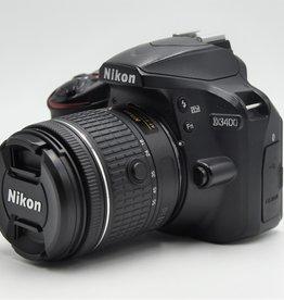 Used Nikon D3400 18-55mm AF-P VR kit