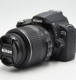 Used Nikon D40  w/ 18-55 VR Lens Kit