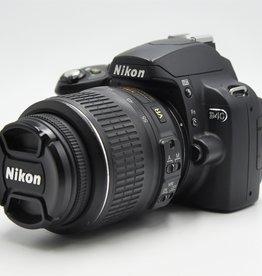 Used Nikon D40 w/18-55 Lens Kit