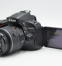 Used Nikon D5100 w/ 18-55 VR Lens Kit