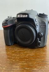 Used Nikon D7200 Body [EX+ 2.4k clicks]