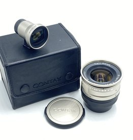 Used CONTAX Carl Zeiss Biogon T* 21mm F2.8 AF Lens for G w/ Viewfinder