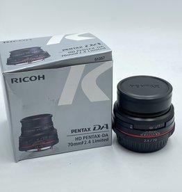 Used Pentax DA 70mm HD f/2.4 Limited (SN: 9542661)