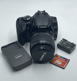 used Used Canon Rebel XTI w/ EF-S 18-55mm Lens