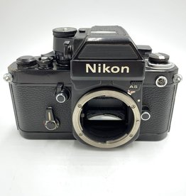 used Used Nikon F2AS SLR Body Film Camera (Black)