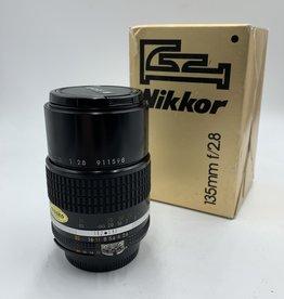 used Used Nikon 135mm f/2.8 AI-S Nikkor Lens