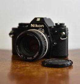 used Used Nikon EM w/ 50mm f/1.8 Lens