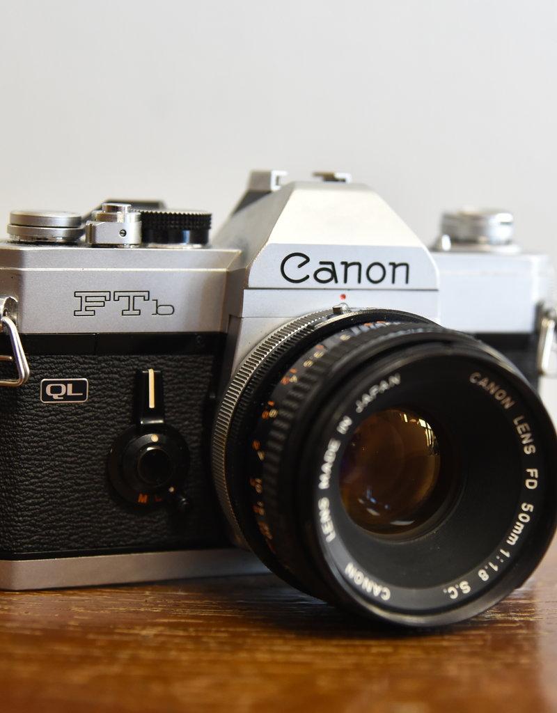 used Used Canon FTb w/ 50mm 1.8 S.C. Lens