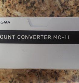 used Used Sigma MC-11 EF to E mount converter