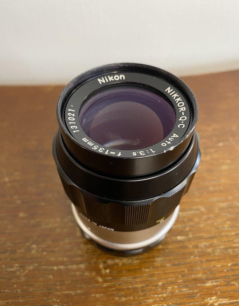Nikon Nikkor QC  135mm f/3.5 Non-AI