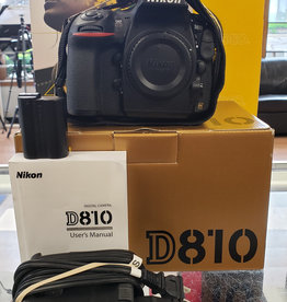 Used Nikon D810 body (10k shutter clicks) *Read|repair*