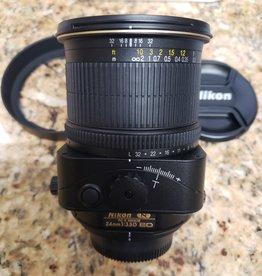 used Nikon PC-E 24mm f/3.5D ED