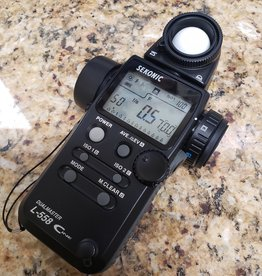 Used Sekonic L-558 Dualmaster Cine light meter