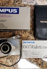 Used Olympus Stylus Epic Zoom 115 Deluxe Film point and shoot