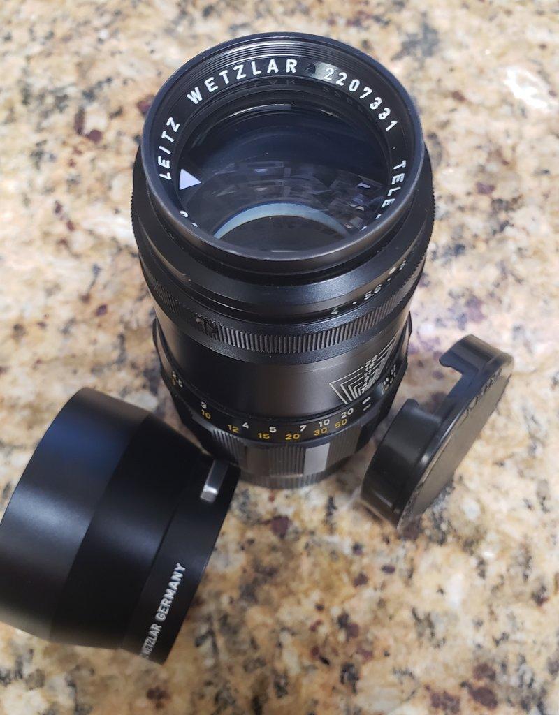 Used Leica Leitz Wetzlar Tele-Elmar-M 135mm f/4