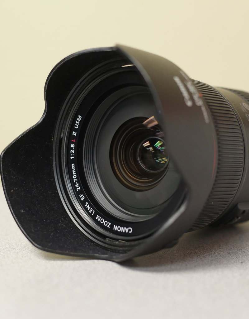 Used Canon 24-70 f/2.8 L IS II USM Lens