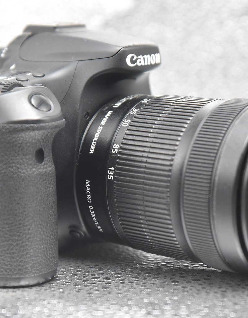 Used Canon 70D w/ 18-135mm Kit