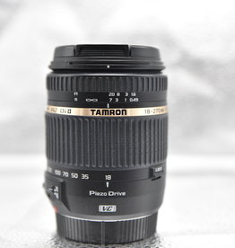 Used Tamron Di II 18-270 PZD for Canon