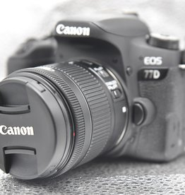 Used Canon 77d body