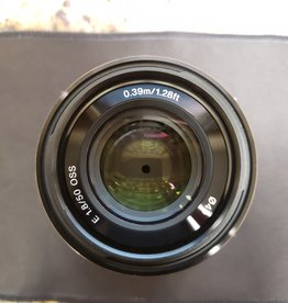 Used Sony 50mm 1.8 OSS E-mount