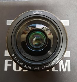 Used Panasonic Lumix 20mm 1.7 ii