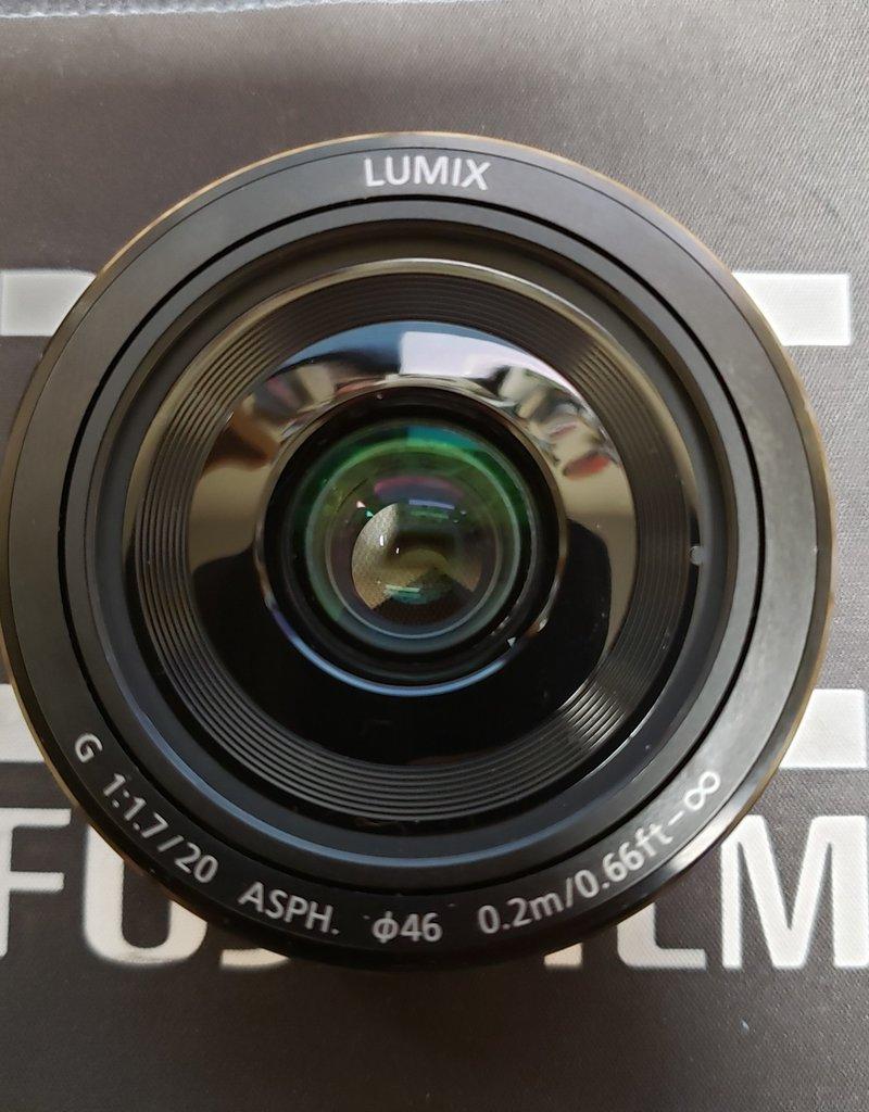 Used Panasonic Lumix 20mm 1.7 ii