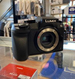 (OPEN BOX) Panasonic Lumix DMC-G7 Mirrorless Micro Four Thirds Digital Camera with 14-42mm Lens